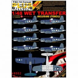 Wet Transfers: F4U-1A Corsair VF-17