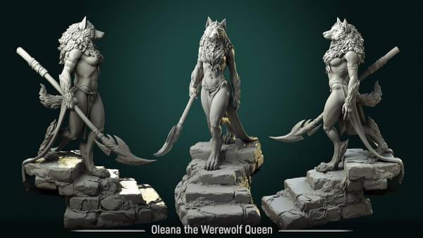 Oleana the Werewolf Queen