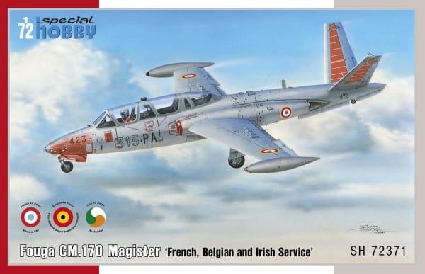 Fouga CM.170 Magister 'French, Belgian and Irish Service' / 1:72