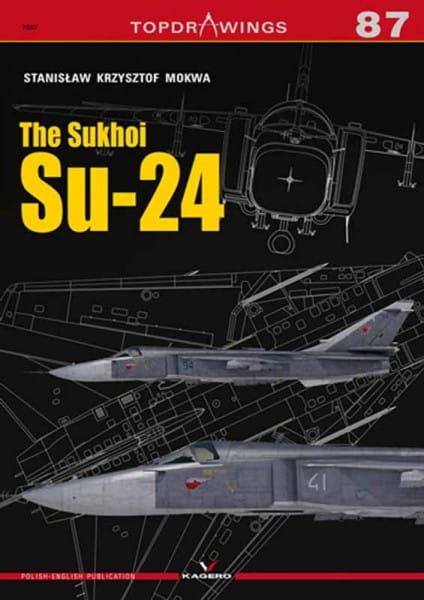 Kagero Kagero TopDrawings 87: The Sukhoi Su-24