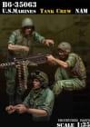 USMC Tank Crew Vietnam / 1:35
