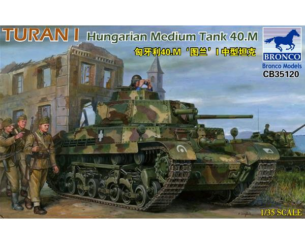 Bildergebnis für 1:35 Bronco Models CB35120 Turan I Hungarian Medium Tank 40.M