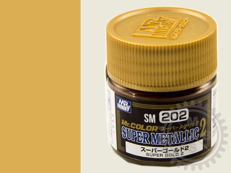 Super Gold II Metallic Color / 10ml