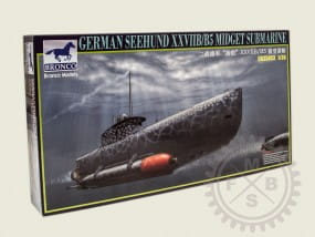 German ~Seehund~ XXVII B/b5 (2in1) / 1:35