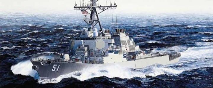 U.S.S.Arleigh Burke DDG-51 / 1:350