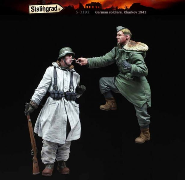 Stalingrad German soldiers, Kharkov 1943 / 1:35