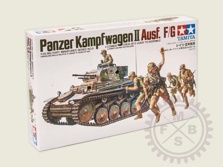 Tamiya Panzer II Ausf. F/G / 1:35