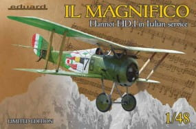 IL MAGNIFICO Hanriot HD.I in Italian service - Limited Edition - / 1:48