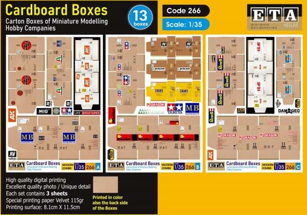 Cardboard Boxes / 1:35