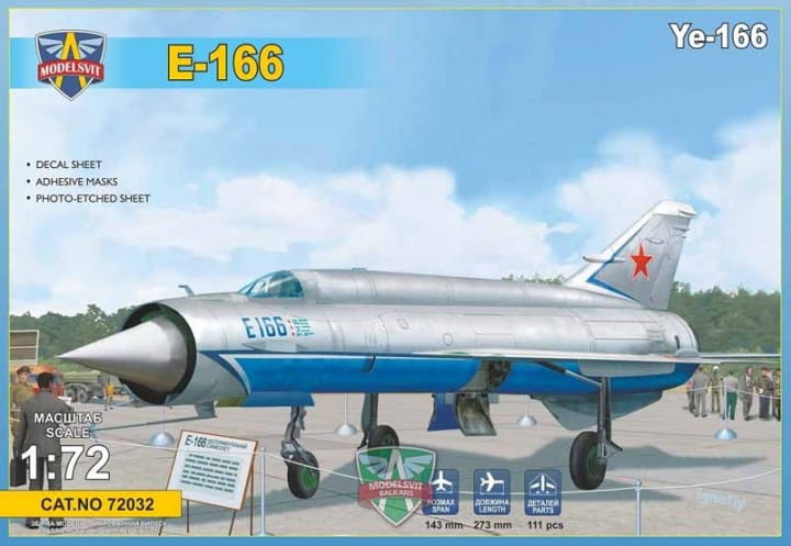 Ye-166 Heavy experimental interceptor / 1:72