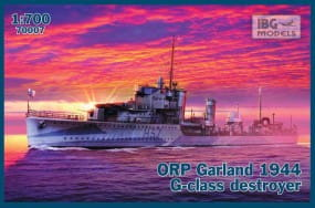 ORP (ex HMS) Garland 1944 G-class Destroyer / 1:700