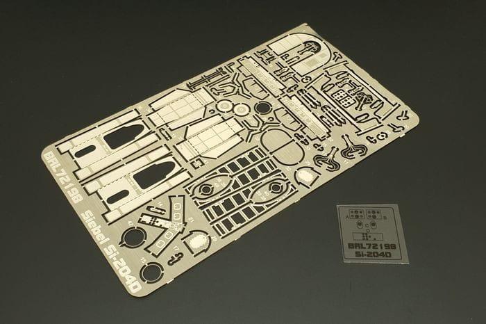 Brengun Siebel Si-204D (KP-Smer kit) / 1:72