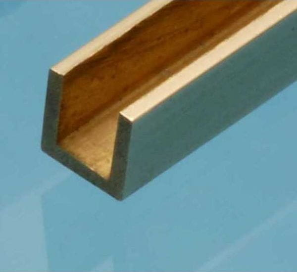 u profil messing 1mmx1mmx1mm albion alloys 1. Black Bedroom Furniture Sets. Home Design Ideas